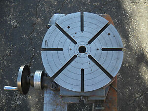 Troyke Model R 15 Horizontal Precision 15 Rotary Table Dividing Head