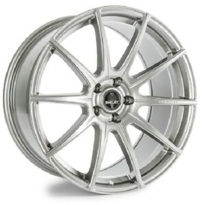 2005 17 Mustang Shelby Venom Silver 20 Staggered Wheel Set