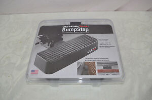 Weathertech Bumpstep 2 Receiver Hitch Step Bumper Protection Trucks Suvs New