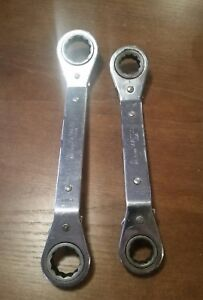Matco Ratcheting Offset Box Wrenches Wrd 20222 24282 Reversible