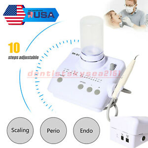 Self Water Dental Ultrasonic Piezo Cavitron Scaler Handpeice Fit Dte Satelec Usa