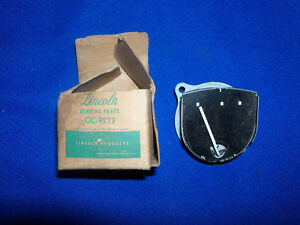1950 1951 Lincoln Oil Gauge New Old Stock