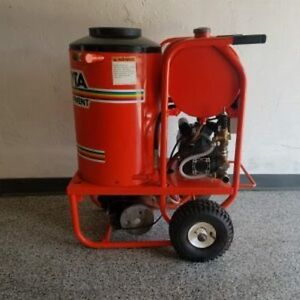 Used Alkota 2142a Hot Water 120v Diesel 2gpm 1400psi Pressure Washer