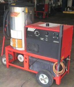 Used Hotsy 950ss Hot Water 1ph Diesel 3 8gpm 2000psi Pressure Washer
