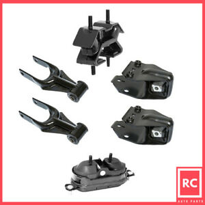 Motor Trans Mount 6pcs Set For 2006 2011 Chevrolet Impala Monte Carlo 3 5l