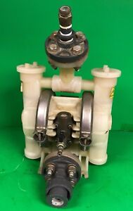 Used Wilden 1 Air Operated Polypropylene Diaphragm Pump Tested