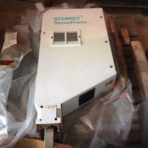 Schmidt Servo Press Frame 420 4304200