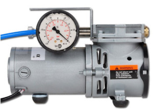 Small Oil free Diaphragm Vacuum Pump For Laboratory Pumping