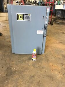 Square D 230v Dc 150 Amp Class 6140 Overhead Crane Disconnect Switch