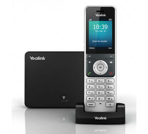 Yealink Yea w56p Wireless Hd Ip Dect Cordless Voip Phone And Device