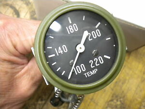 Jeep Willys Mb Ford Gpw Reproduction Temperature Gauge Temp Engine G 503