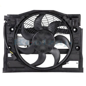 Tyc 99 05 Bmw 3 series E46 Ac Condenser Cooling Fan Motor Assy With Control Unit
