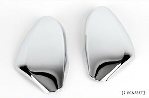 Side Mirror Chrome Trim Garnish Molding Cover For Hyundai 11 2015 Accent Solaris