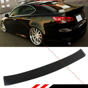 For 2006 13 Lexus Is 250 350 Isf F Sport Vip Style Rear Window Roof Top Spoiler