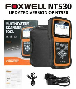 Foxwell Nt520 Pro Porsche Diagnostic Scanner Tool Airbag Abs Engine Reset Nt510