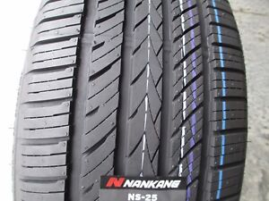 4 New 235 45r17 Inch Nankang Ns 25 All season Uhp Tires 45 17 R17 2354517 45r