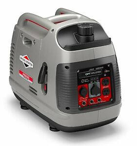 Portable Inverter Generator 2200 Watts Briggs Stratton 30651 P2200 Powersmart