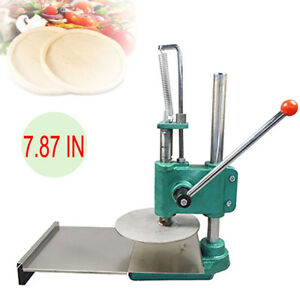 200mm Dough Roller Dough Sheeter Pasta Maker Pizza Dough Pastry Press Commercial