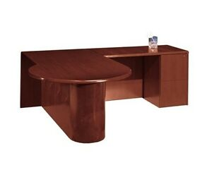 New Ruby p Front L shape Executive Office Desk