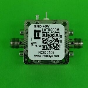 Frequency Divider prescaler Divide By 2 dc To 10 Ghz