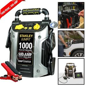 Battery Jump Starter 1000 Amp Peak Portable Car Charger Power Truck Booster Pack