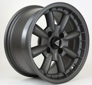 15x5 5 Enkei Compe 4x130 17 Gunmetal Rims New Set Of 4