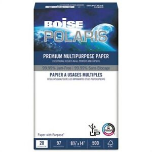 Polaris Premium Multipurpose Paper 8 1 2 X 14 20lb White 5000 ct