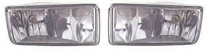 Fits 08 09 10 11 12 13 Chevrolet Avalanche Suburban Tahoe Foglight Pair Set New