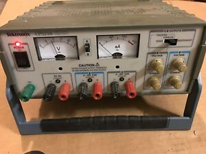 Tektronix Cps250 Triple Output Dc Power Supply 1x 5v 2a 2x Variable 20v 0 5a