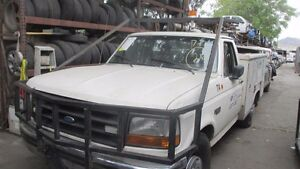 Truck Brush Guard Bull Bar Cage Used On An F250 Surrounds Cab