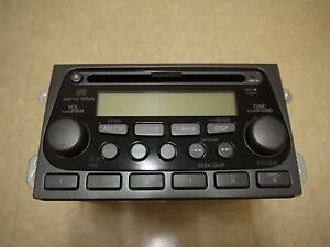 05 2005 Honda Element Radio Stereo Mp3 Am Fm Cd Player Oem