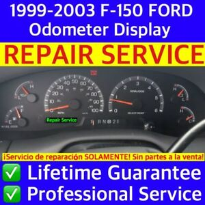 1999 00 01 02 03 Ford F150 Expedition Odometer Cluster Repair Service