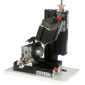 Metal Indexing Milling Machine Diy 6 Axis Drilling Milling Machine 12000rpm 60w