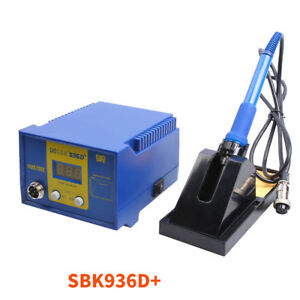 Bakon Electric Iron Digital Thermostat Soldering Station Sbk936d 220v 480 60w