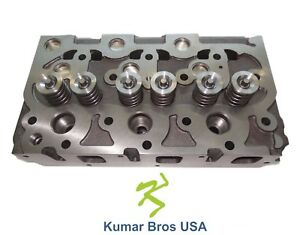 New Kubota D1402 Complete Diesel Cylinder Head With Valves