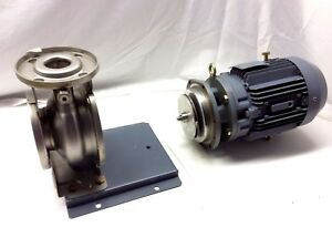 New Ebara 73095 50 X 40 Stainless Steel Ss Centrifugal Pump 1 5kw 2hp 200v 220v