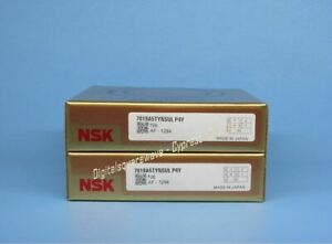 Nsk 7019a5tynsulp4y Abec 7 Super Precision Spindle Bearings matched Set Of 2