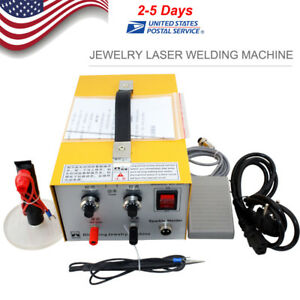 Jewelry Welding Machine Electric Pulse Sparkle Spot Welder Jewelry Tool Us Plug