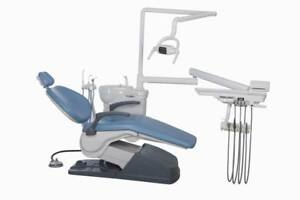 Computer Controlled Dental Unit Chair Sky Blue A1 Model 4hole Us Shiping Fda Ce
