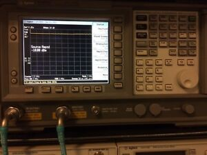 Agilent Hp Keysight E4402b 9khz 3ghz Esa e Series Spectrum Analyzer Tracking Gen