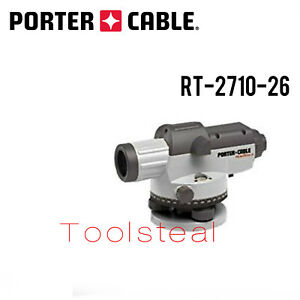 Porter Cable Rt 2710 26 Robotoolz Automatic Level New W Full Warranty
