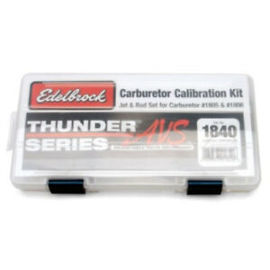 Edelbrock 1805 1806 Thunder Series Avs Carburetor Calibration Kit 1840