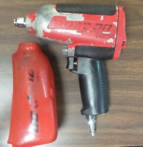 Snap On Mg725 Red Air Impact Wrench With Cover