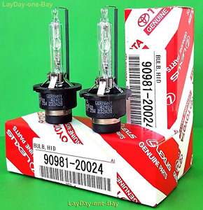 D4s X2 New Oem 90981 20024 20013 Hid Xenon Replacement Headlight Bulbs
