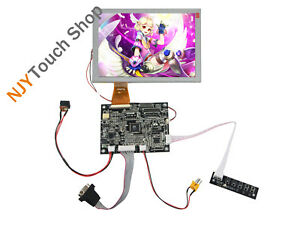 Vga Av Lcd Controller Board Kit With 8inch Tft A080sn01 800x600 Lcd Screen