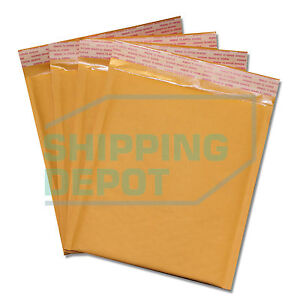 1 2000 dvd 7 5x10 Kraft Bubble Mailers Self Seal Envelopes 7 5 x10 Secure Seal