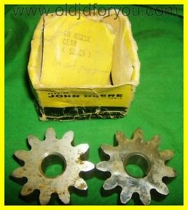 Nos John Deere 3010 Oil Pump Gear Set Ar40218 Fits Your 4020 And More