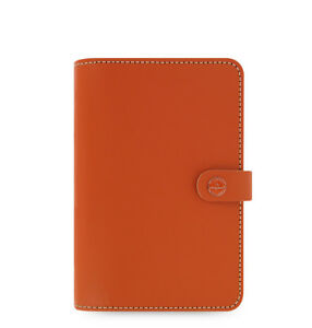 Filofax Original Organizer Burnt Orange Personal Size Any Year Diary 022390