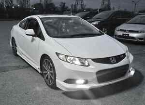 New 2012 2013 Honda Civic Aspec Hfp Style Front Lip Coupe 2 Door 13 14