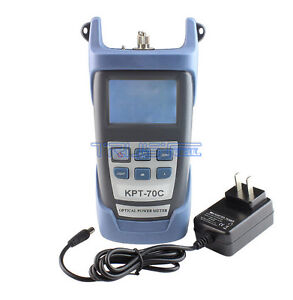 New Ftth Fiber Optic Optical Power Meter Cable Tester 70 10dbm Value Fiber